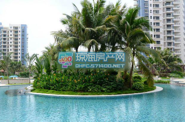 御河观景台环岛泳池中心岛