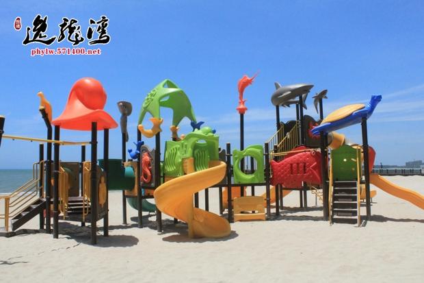 平海逸龙湾儿童沙滩游乐场