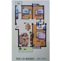 3室2厅2卫  106.49平米