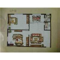2室2厅1卫  1平米