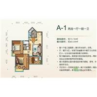 2室1厅1卫  73.78平米
