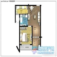 1室2厅1卫  0平米