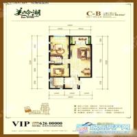 2室2厅2卫  89.03平米