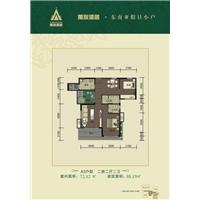 2室2厅2卫  88.19平米