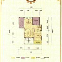 1室2厅1卫 72.42平米