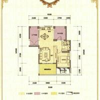 1室2厅1卫  65.78平米