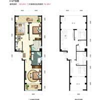 2室2厅1卫  100.69平米