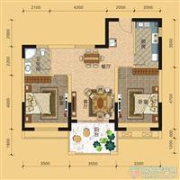 2室2厅1卫  88.5平米