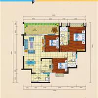 3室2厅2卫  117.84平米