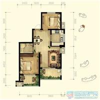 2室2厅1卫  96平米
