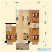 3室2厅2卫  106.29平米